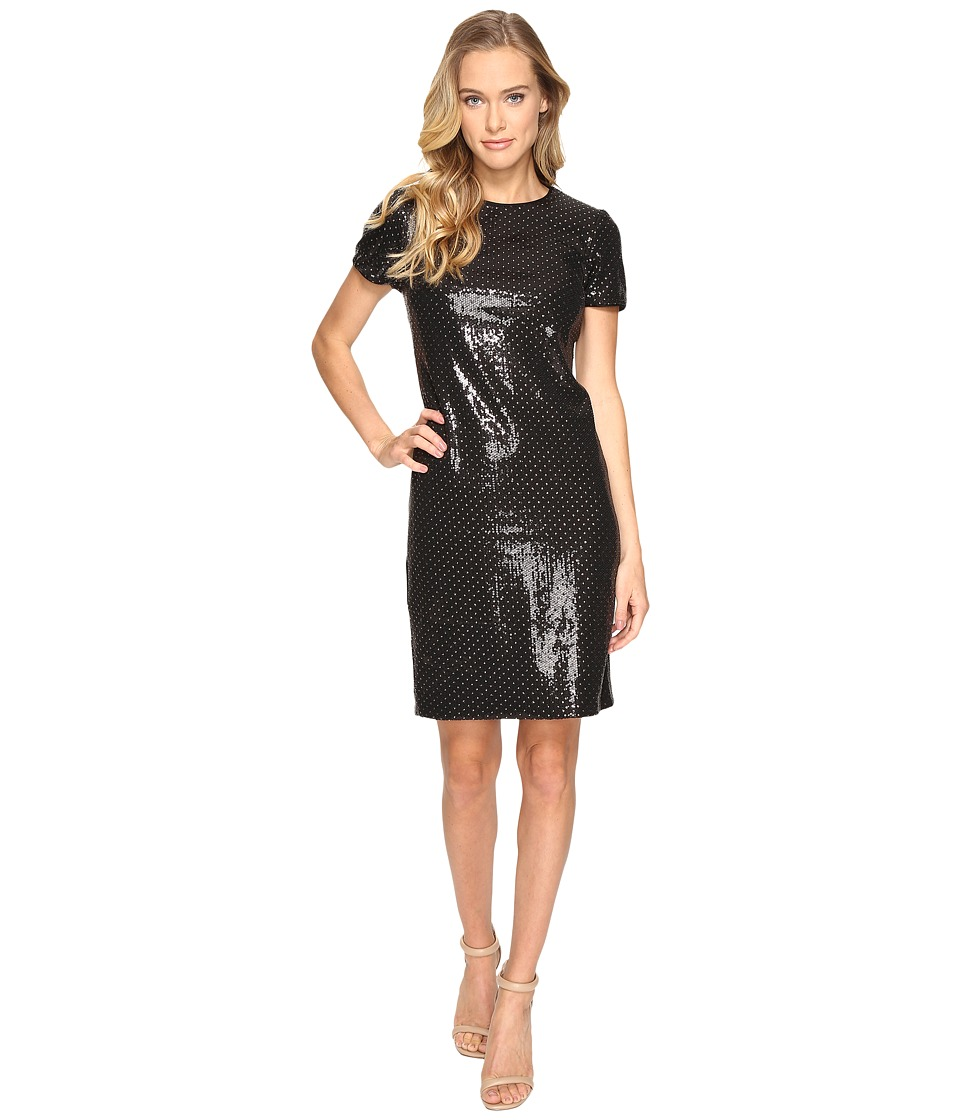 rsvp Portland Studded Sequin Dress (Black) Women