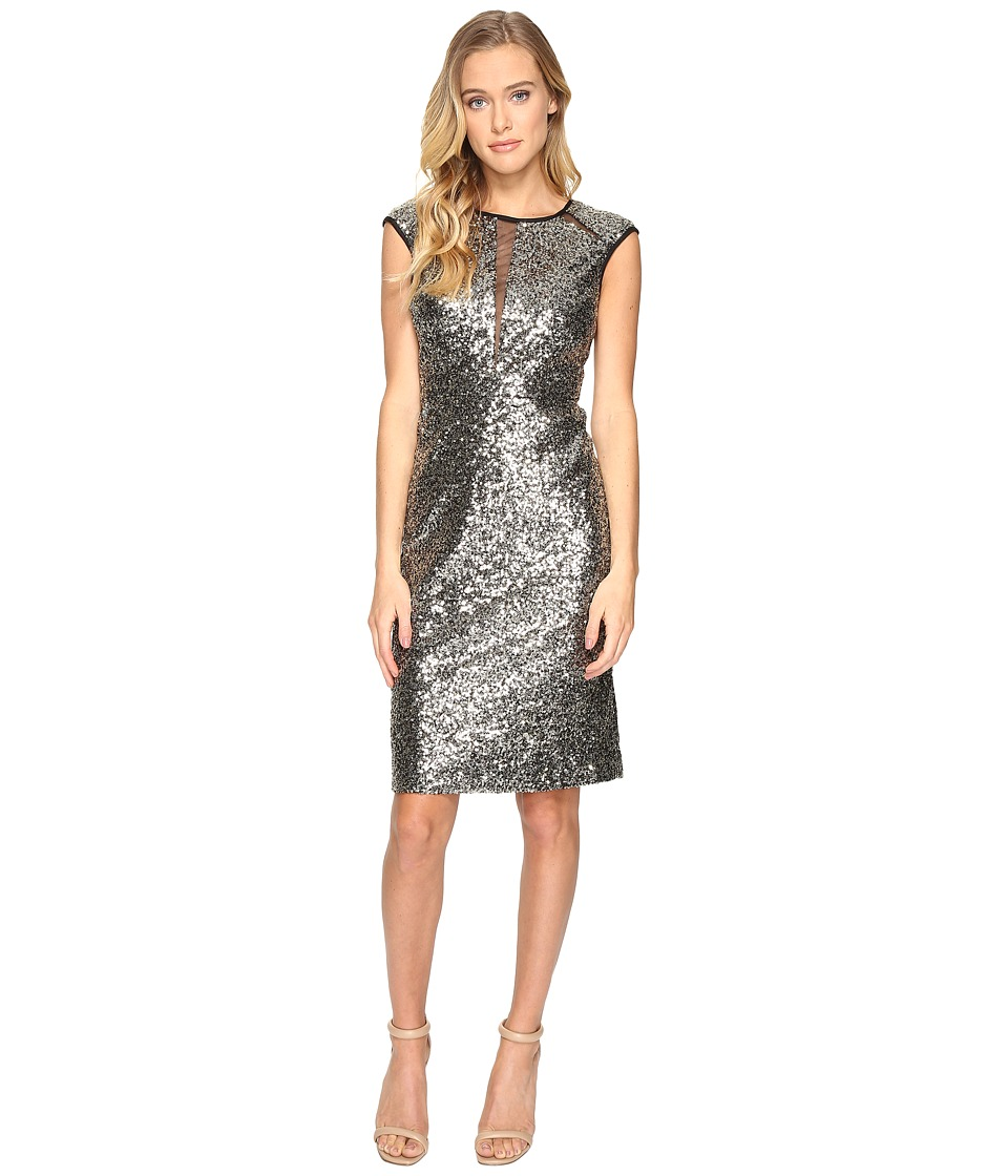 rsvp - Ridgely Sequin Dress (Gold) Women's Dress
