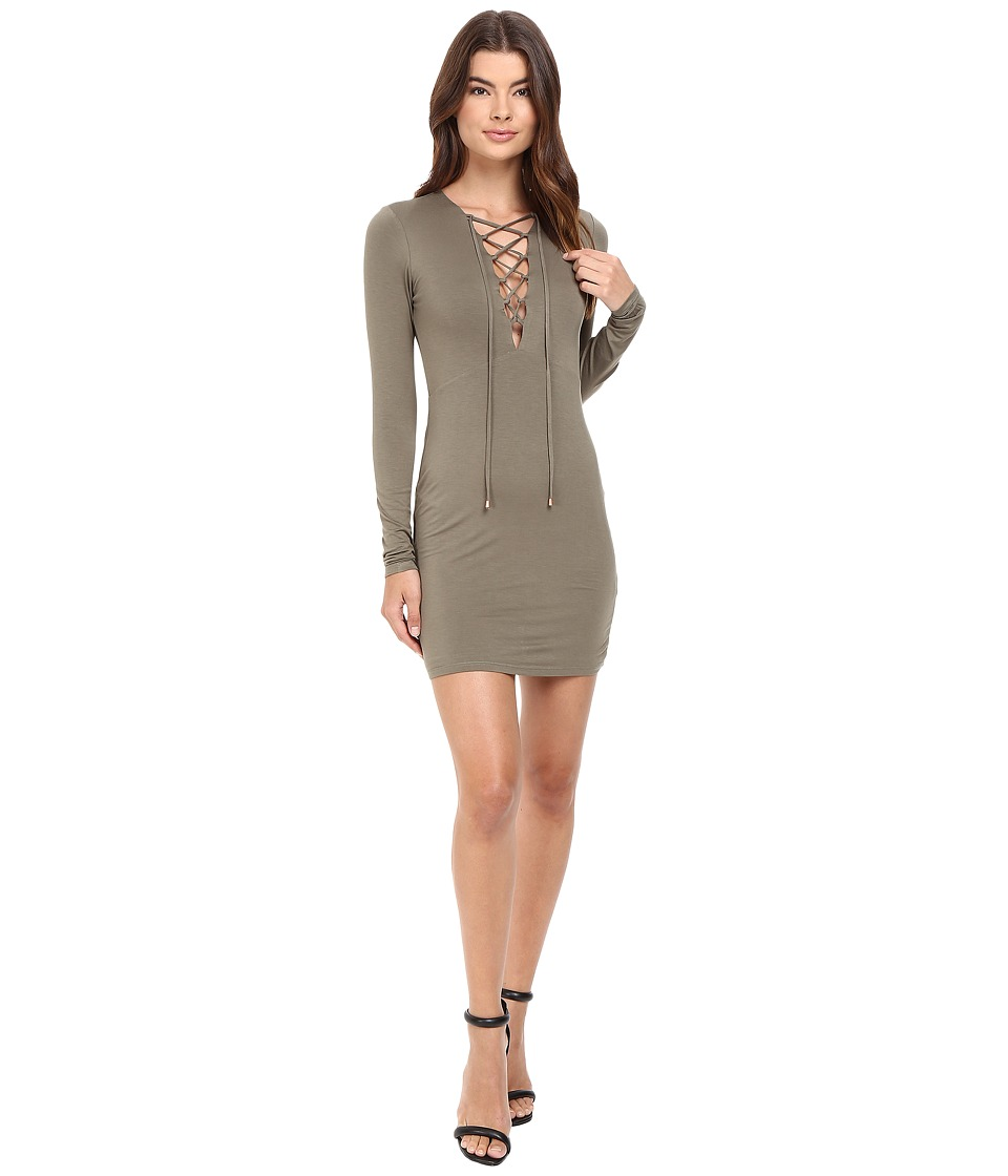 Lovers + Friends - Union Dress (Moss) Women's Dress