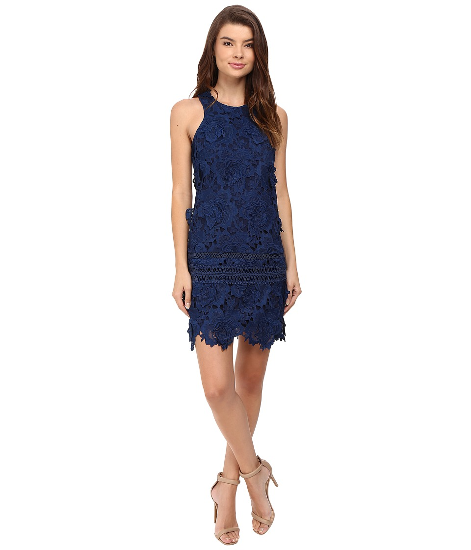 Lovers + Friends - Caspian Shift Dress (Navy) Women's Dress