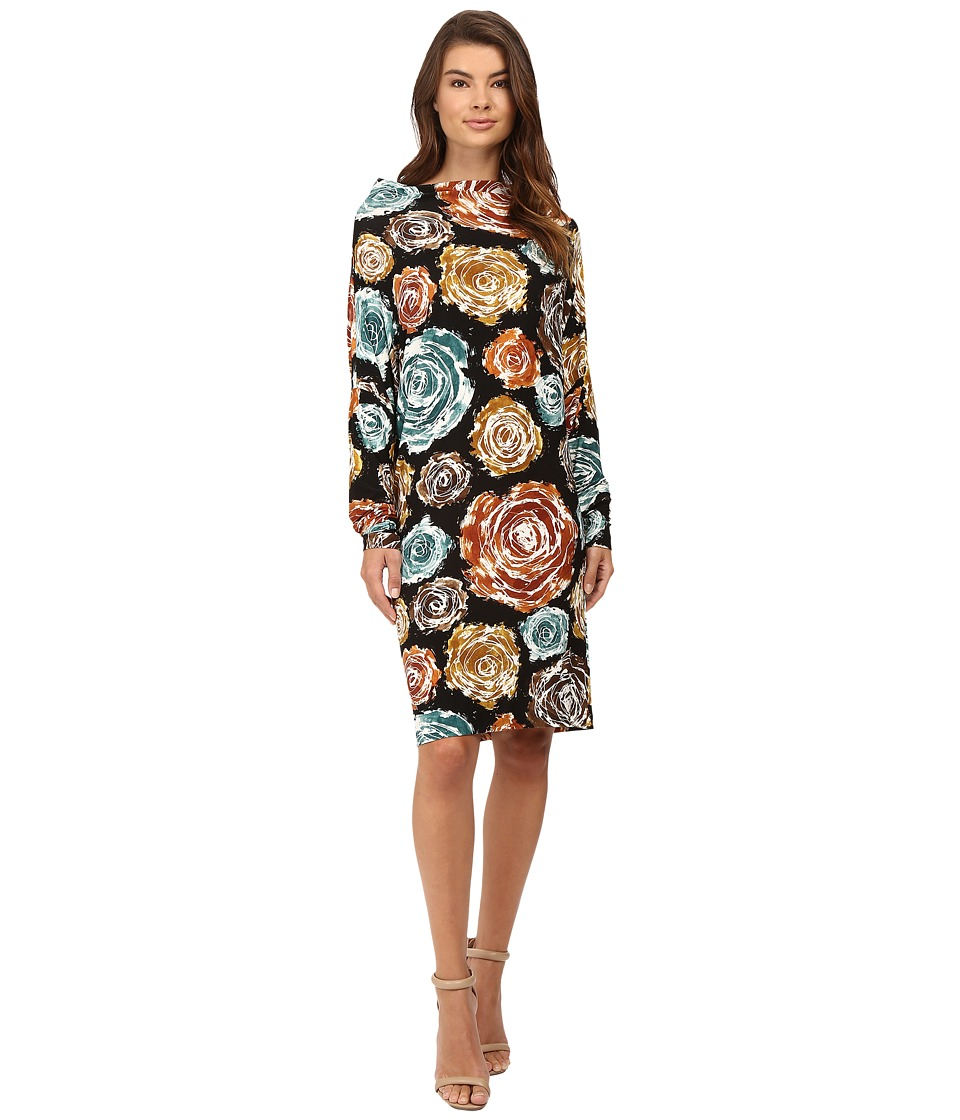 KAMALIKULTURE by Norma Kamali - All-In-One Dress (Painter Roses) Women's Dress