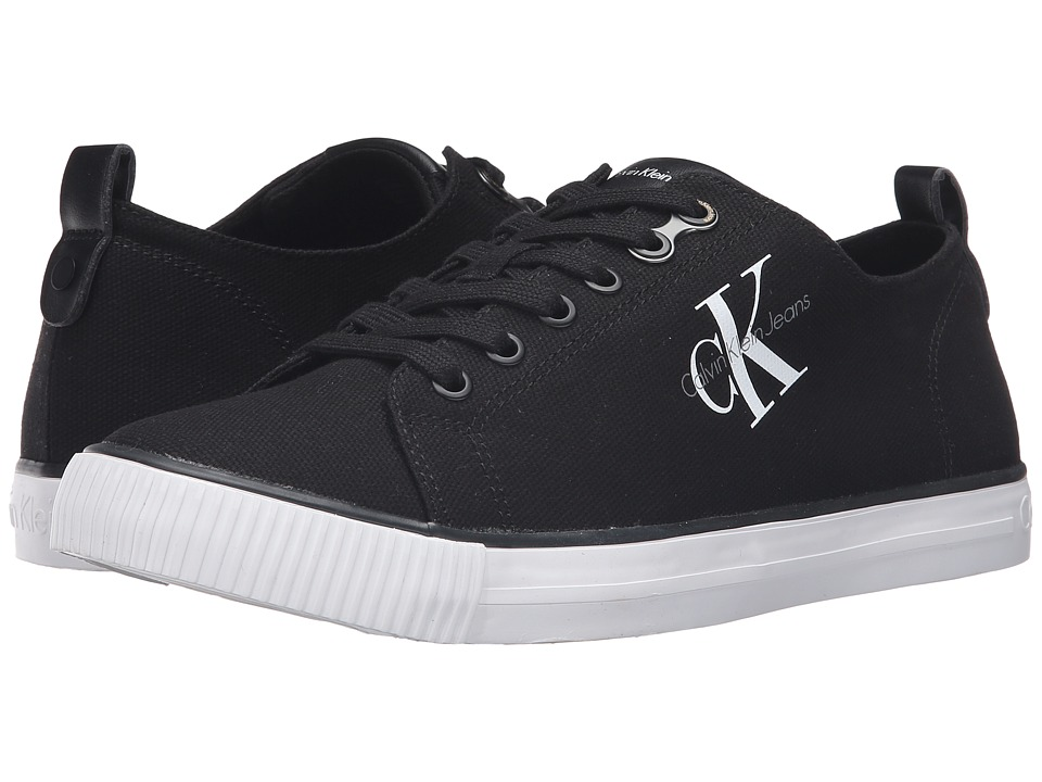 Calvin Klein - Arnold (Black Canvas) Men's Shoes