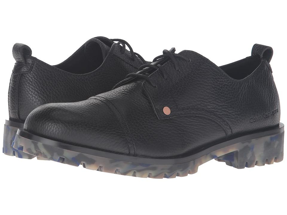 Calvin Klein Jeans Nox (Black Thicker Grainy Leather) Men