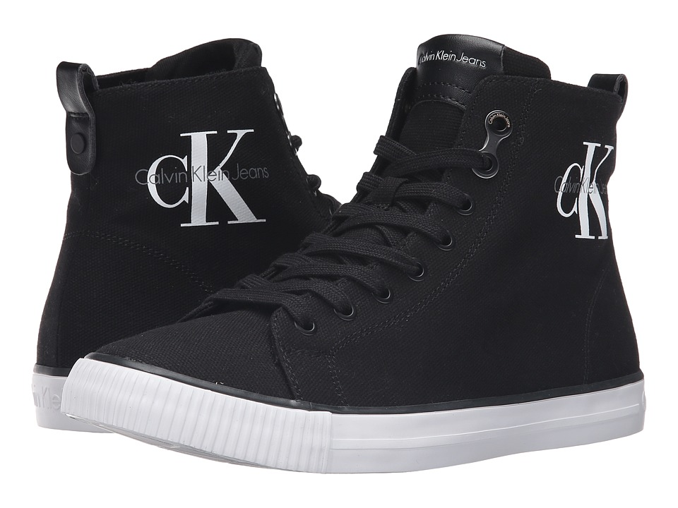Calvin Klein - Arthur (Black Canvas) Men's Shoes