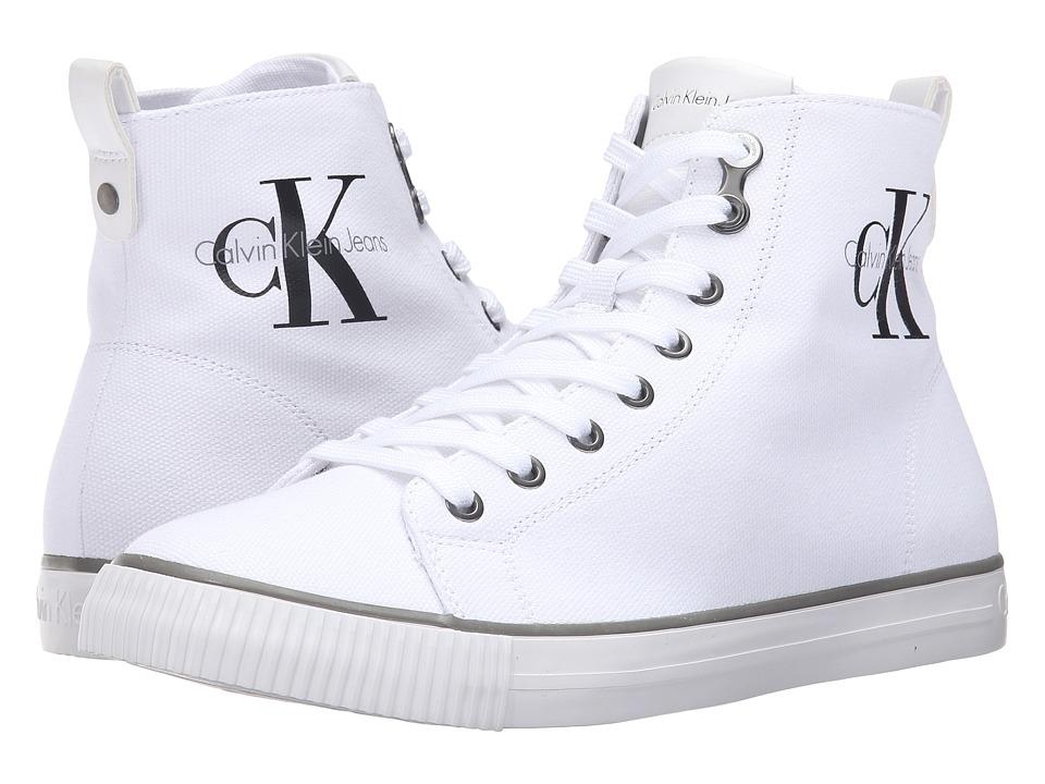 Calvin Klein Jeans Arthur (White Canvas) Men