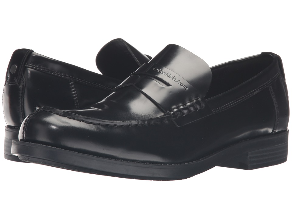 Calvin Klein - Yonah (Black Soft Brush Off) Men's Shoes