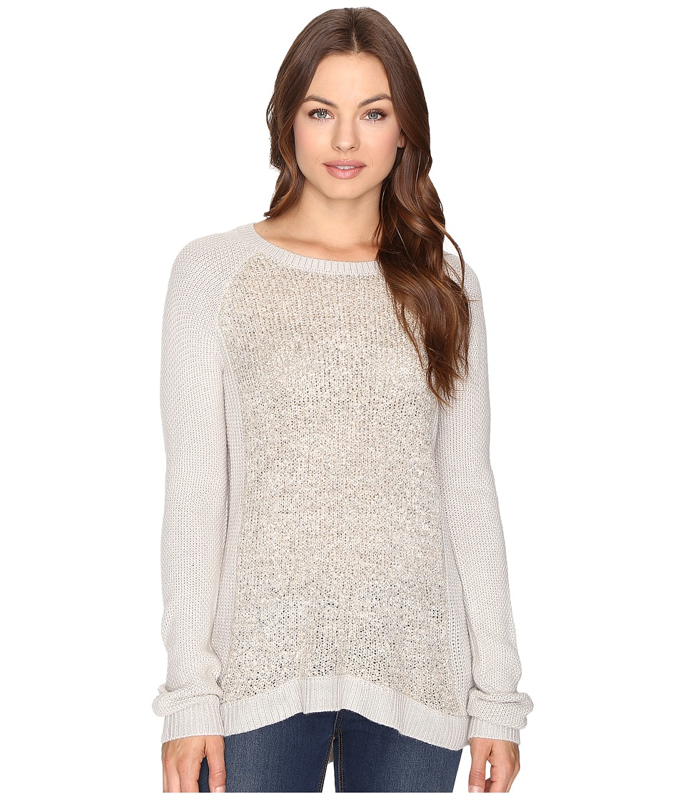 Brigitte Bailey - Amber Boucle Front Pullover (Mocha Heather) Women's Clothing