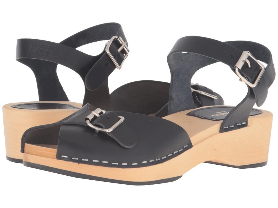 Swedish Hasbeens Pia Debutant (Black) High Heels