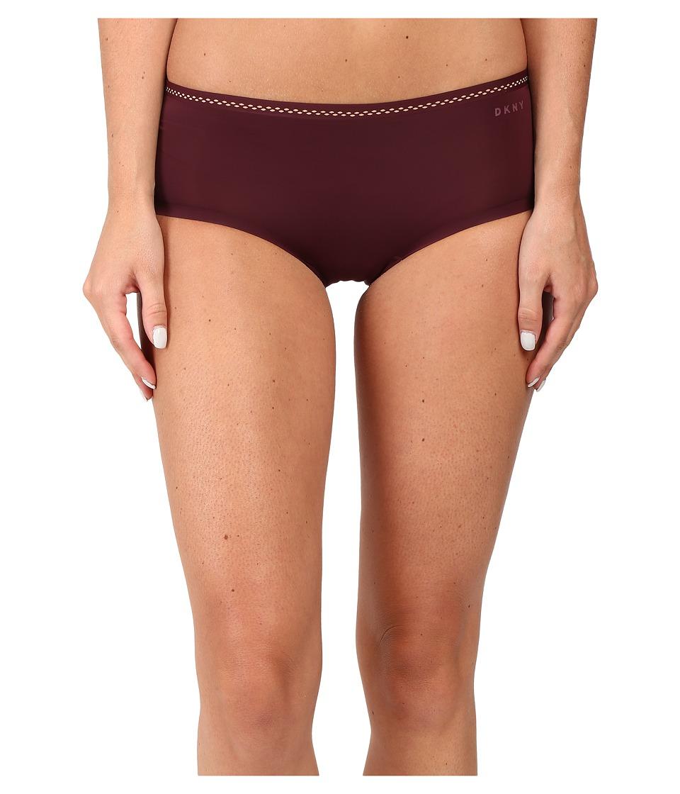 DKNY Intimates - Essential Microfiber Hipster (Raven) Women's Underwear