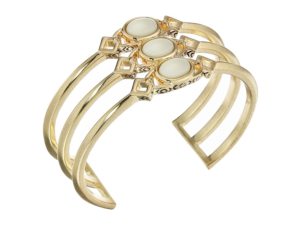 House of Harlow 1960 - Lady Grace Triple Cuff (Gold) Bracelet