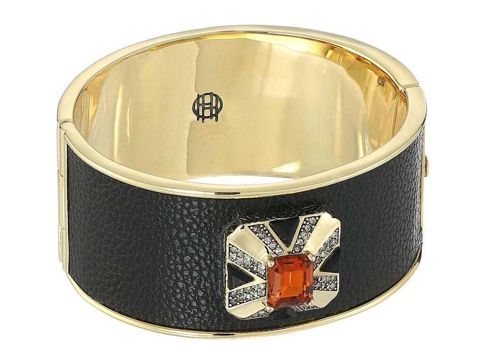 House of Harlow 1960 - Art Deco Hinge Bracelet (Topaz) Bracelet