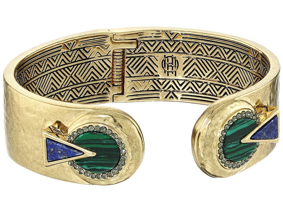 House of Harlow 1960 - Hymn Selene Cuff (Lapis) Bracelet