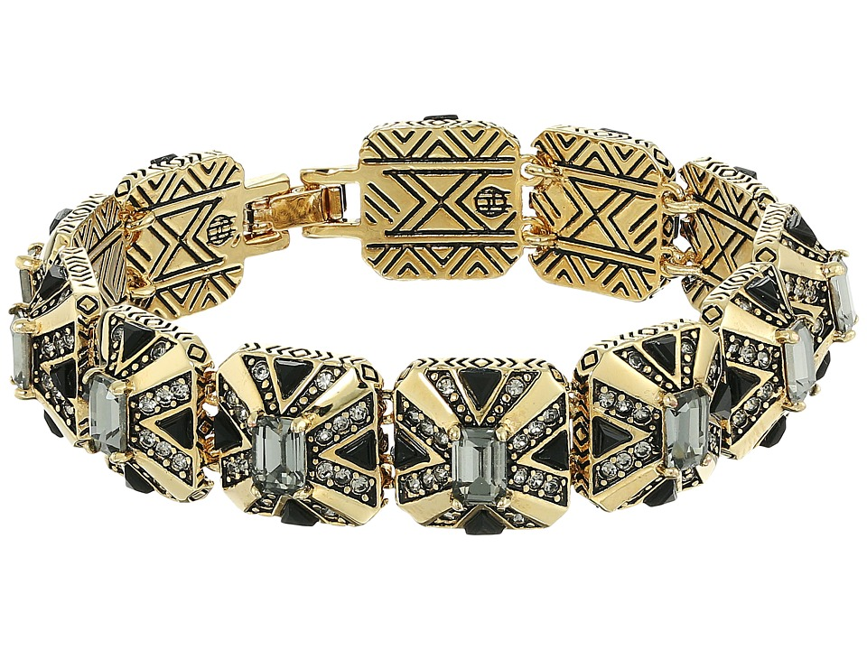 House of Harlow 1960 - Art Deco Tennis Bracelet (Grey) Bracelet