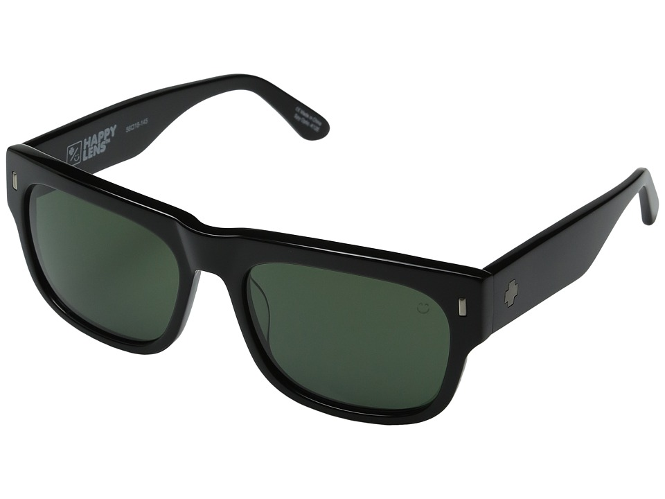 Spy Optic - Hennepin (Black/Happy Gray Green) Sport Sunglasses