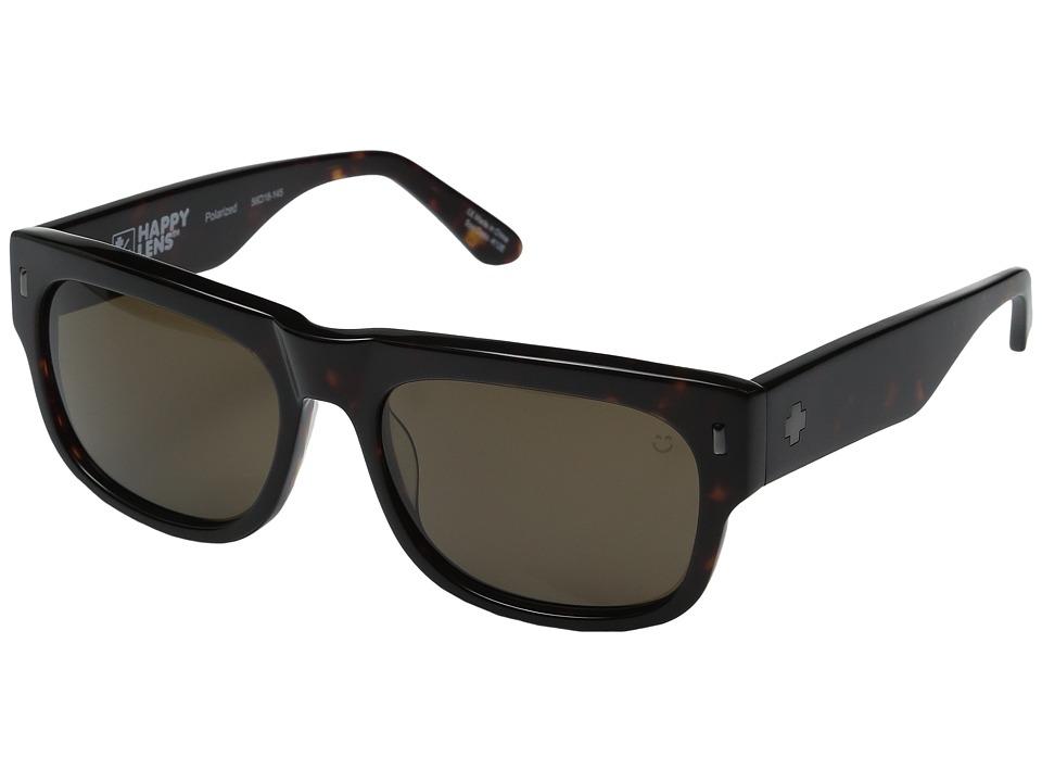 Spy Optic - Hennepin (Dark Tort/Happy Bronze Polarized) Sport Sunglasses