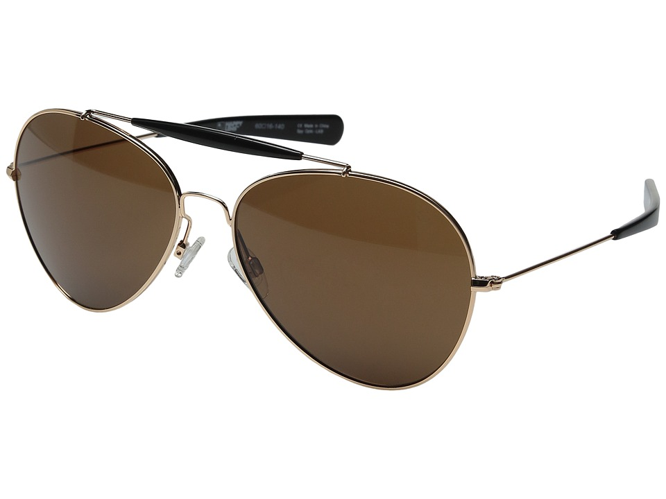 Spy Optic - Presidio (Gold/Black/Happy Bronze) Sport Sunglasses