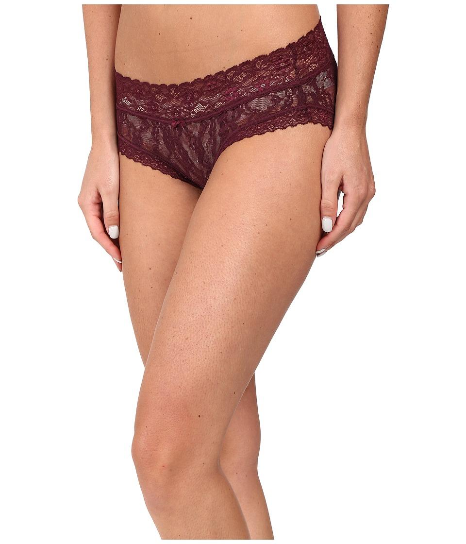 DKNY Intimates - Signature Lace Bikini 543000 (Raven) Women's Underwear