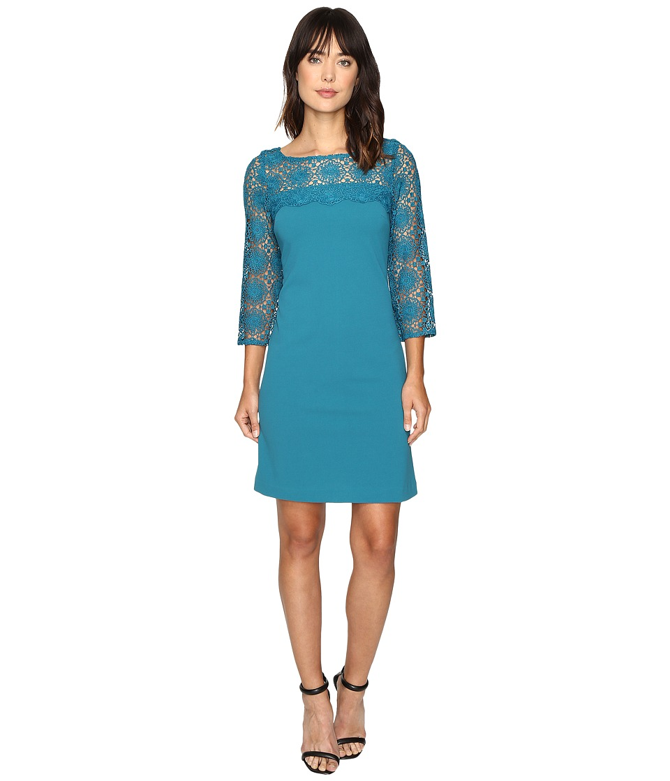 Christin Michaels - Enigma Dress (Teal Honor) Women's Dress