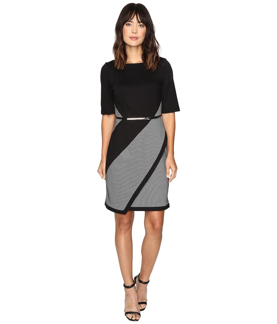 Christin Michaels - Synonym Dress (Black/White) Women's Dress