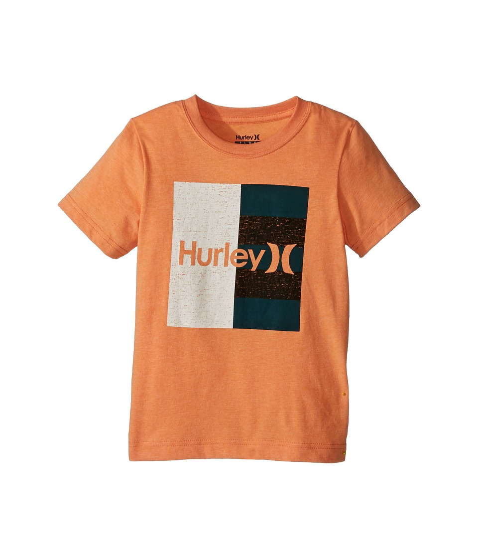 Hurley Kids Dont Start Tee (Little Kids) (Clementine Heather) Boy