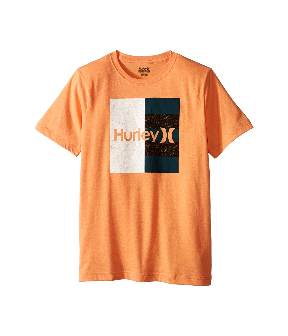 Hurley Kids Dont Start Tee (Big Kids) (Clementine Heather) Boy