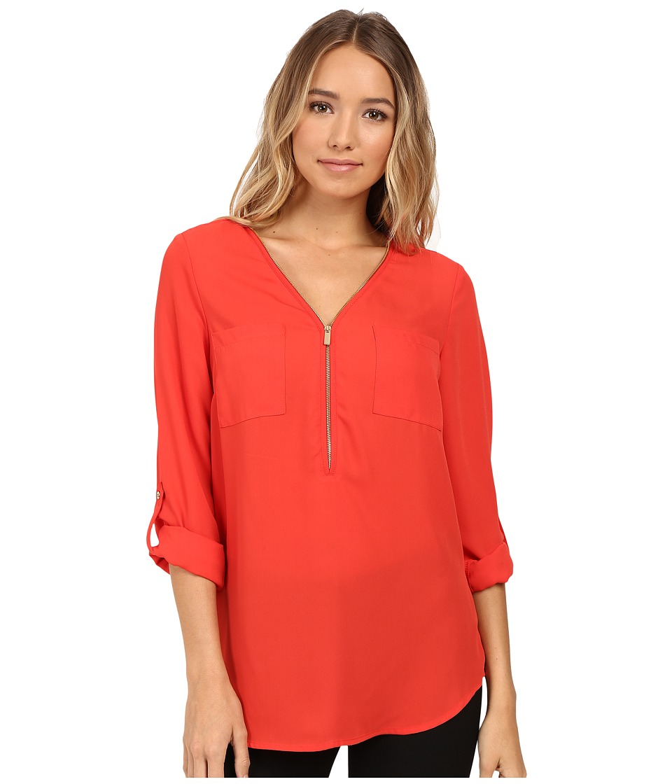 Christin Michaels - Nutmeg Blouse (Grenadine) Women's Blouse