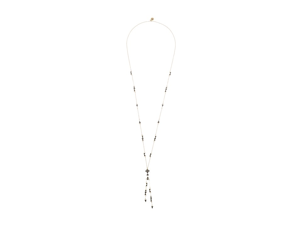 House of Harlow 1960 - Astrea Y-Neck Necklace (Hematite) Necklace