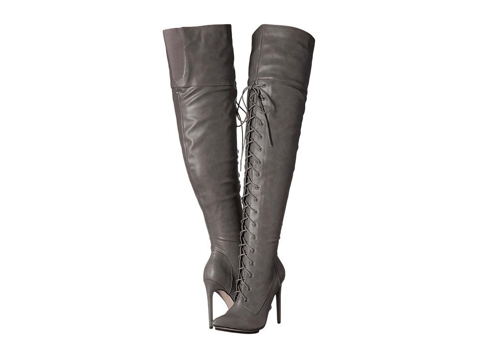 Michael Antonio - Kiev (Charcoal) Women's Lace-up Boots