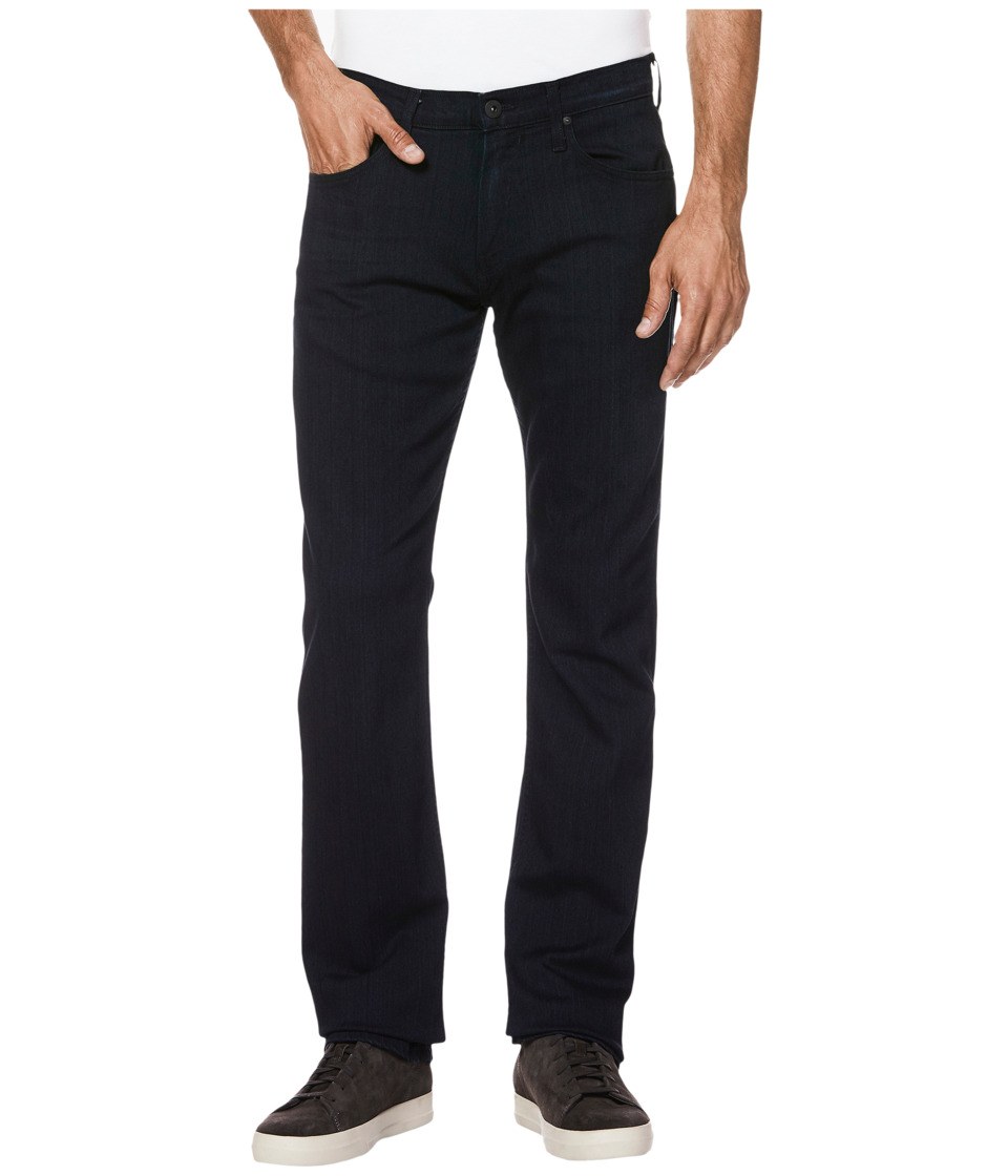 Paige - Normandie Straight Leg Soft Comfort Stretch in Inkwell (Inkwell) Men's Jeans