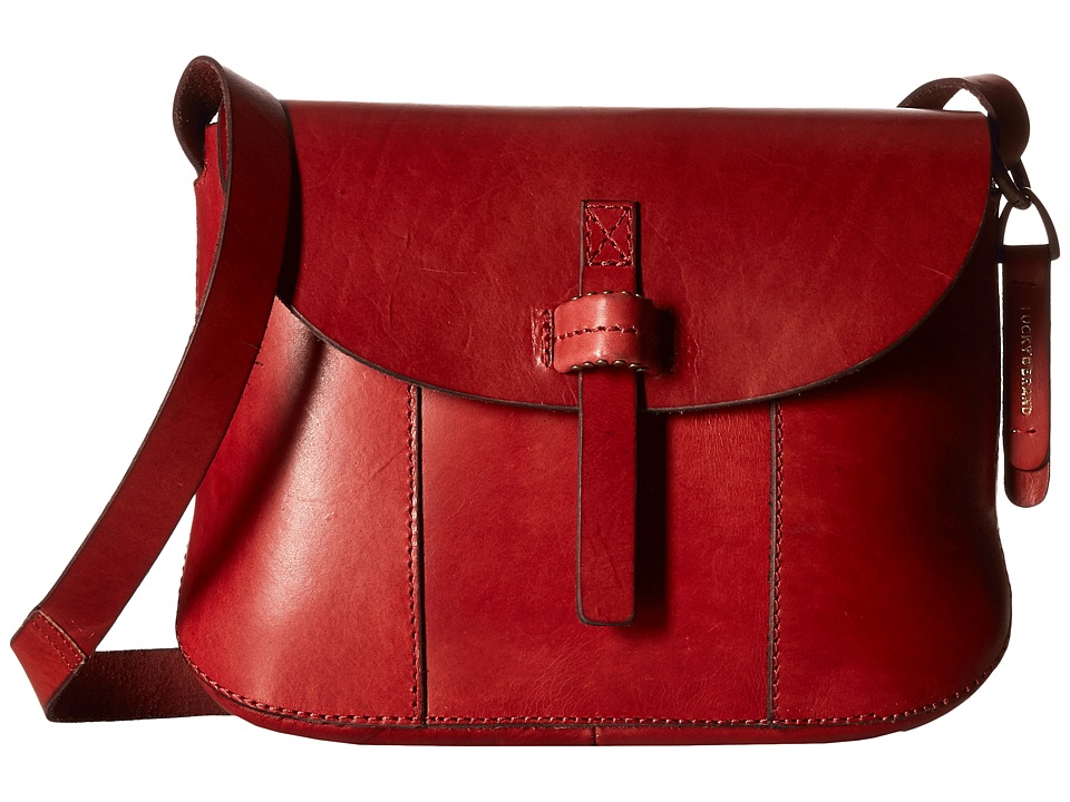 Lucky Brand - Dylon Messenger (Ruby Red) Messenger Bags