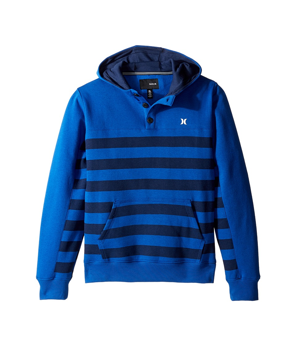 Hurley Kids - Getaway Pullover (Big Kids) (Lyon Blue) Boy's Clothing