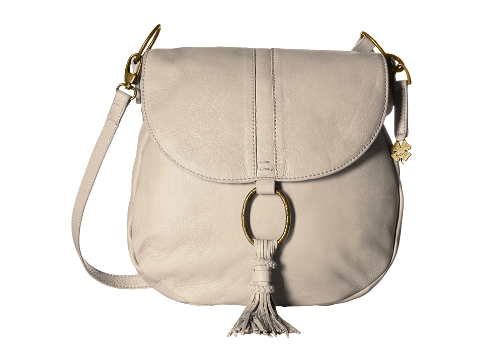 Lucky Brand - Athena Convertible Flap (Concrete) Convertible Handbags