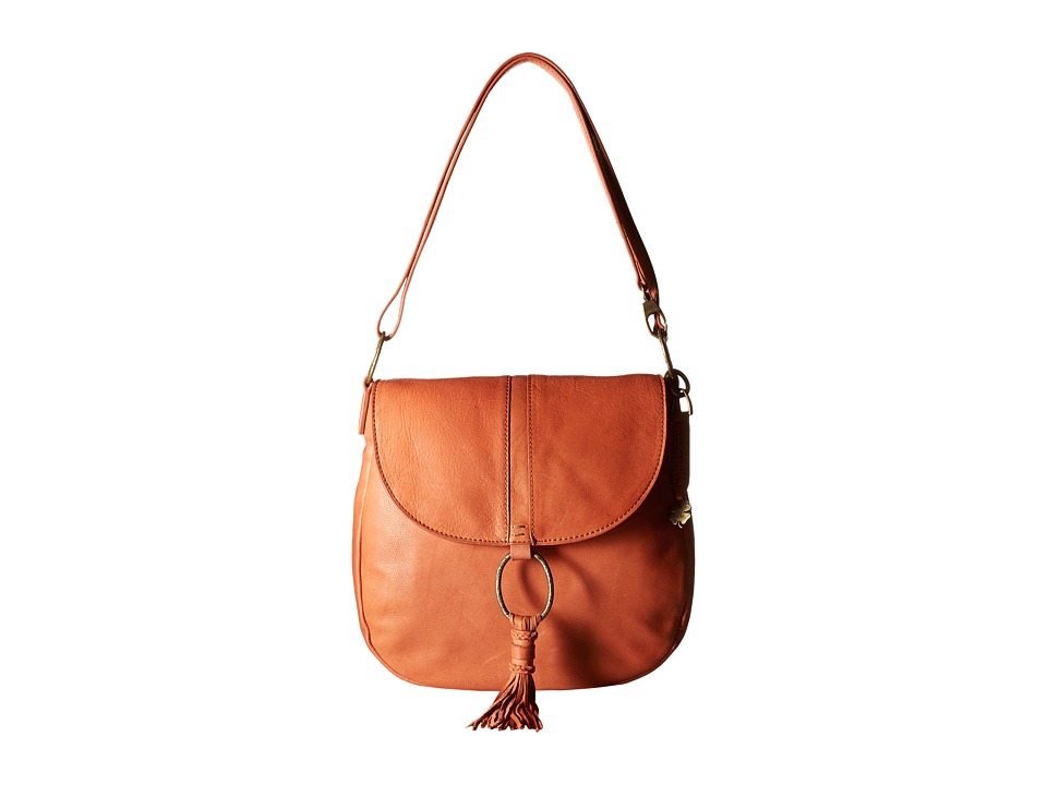 Lucky Brand - Athena Convertible Flap (Terracotta) Convertible Handbags