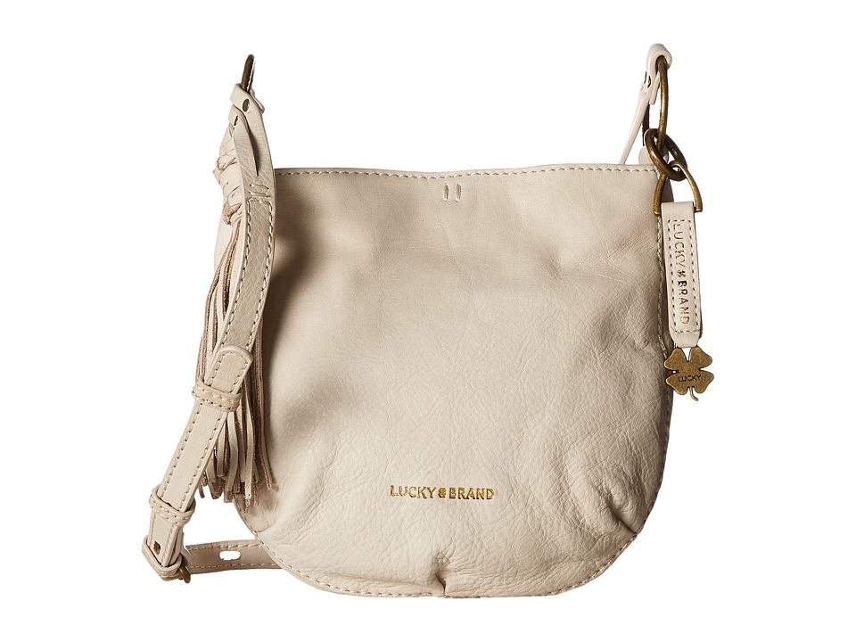 Lucky Brand - Athena Crossbody (Concrete) Cross Body Handbags