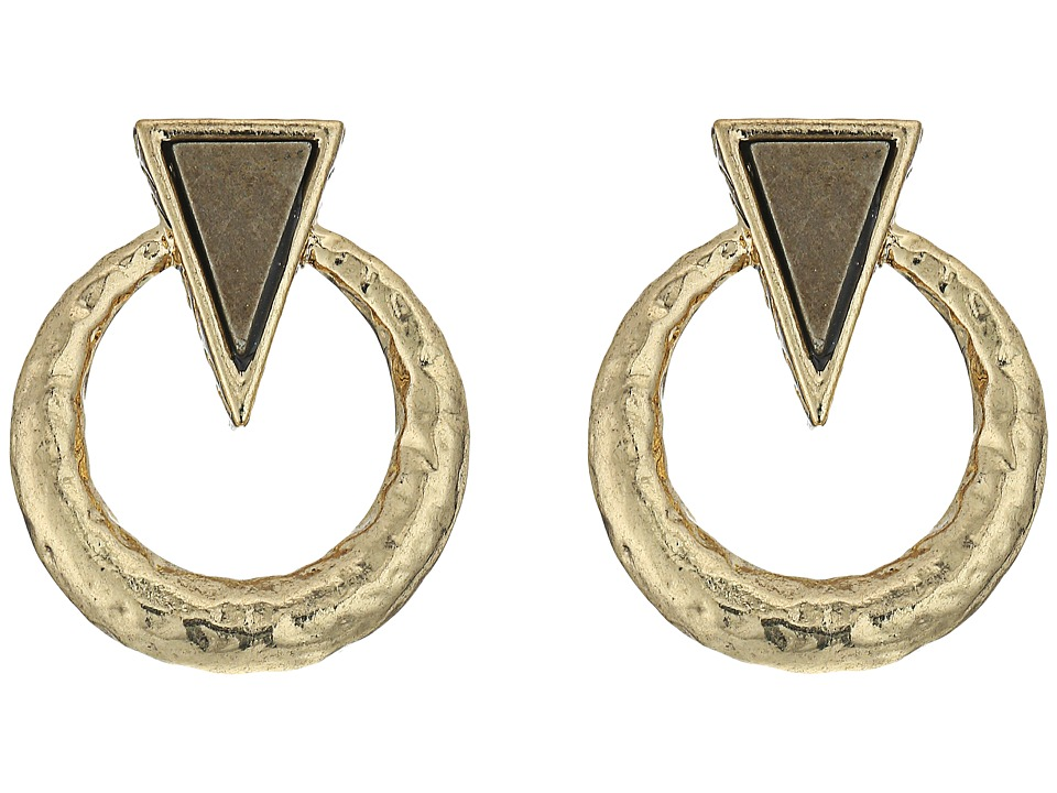 House of Harlow 1960 - Hymn Selene Earrings (Pyrite) Earring
