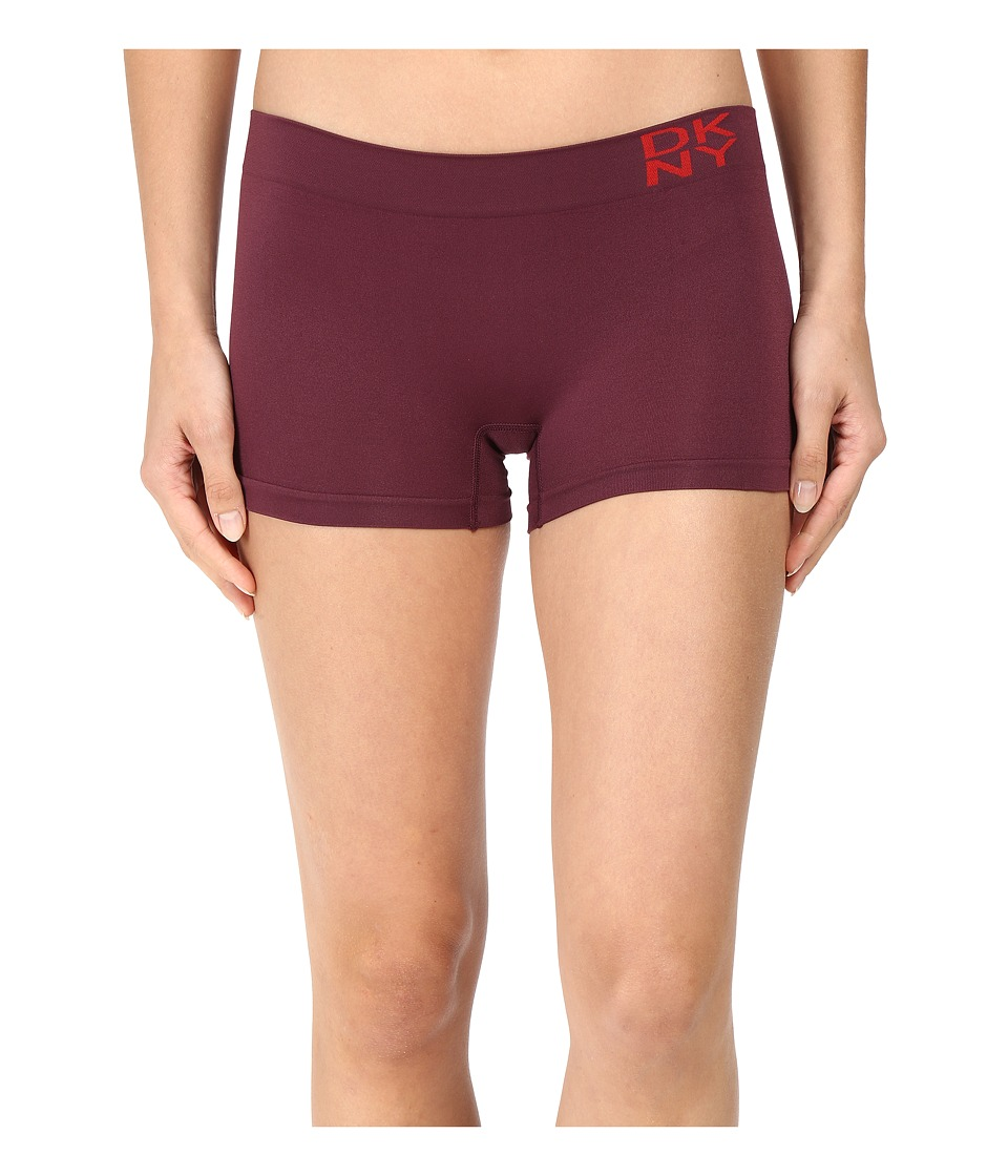 DKNY Intimates - Energy Seamless Boyshort (Raven/Solid) Women's Underwear