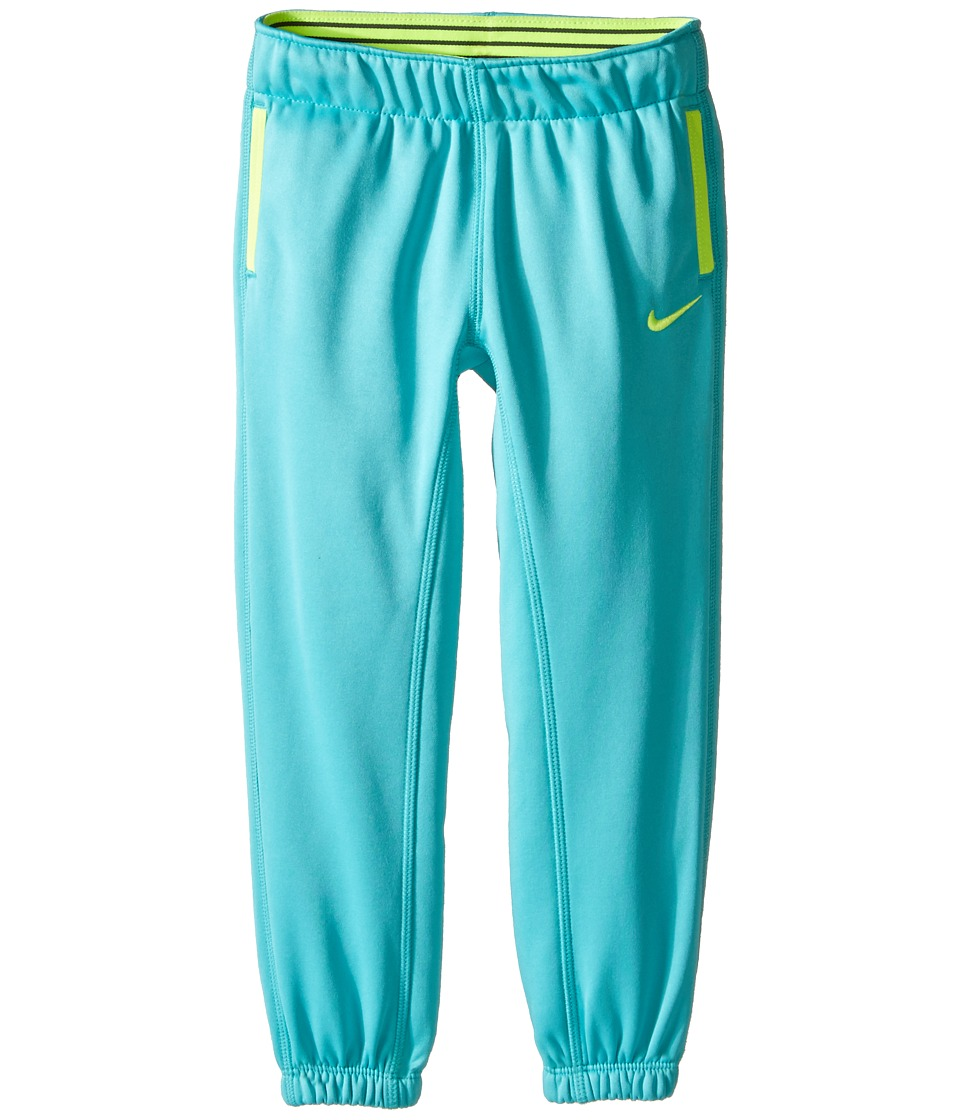 Nike Kids - Thermal Pants At Cuff (Toddler) (Hyper Jade) Girl's Casual Pants