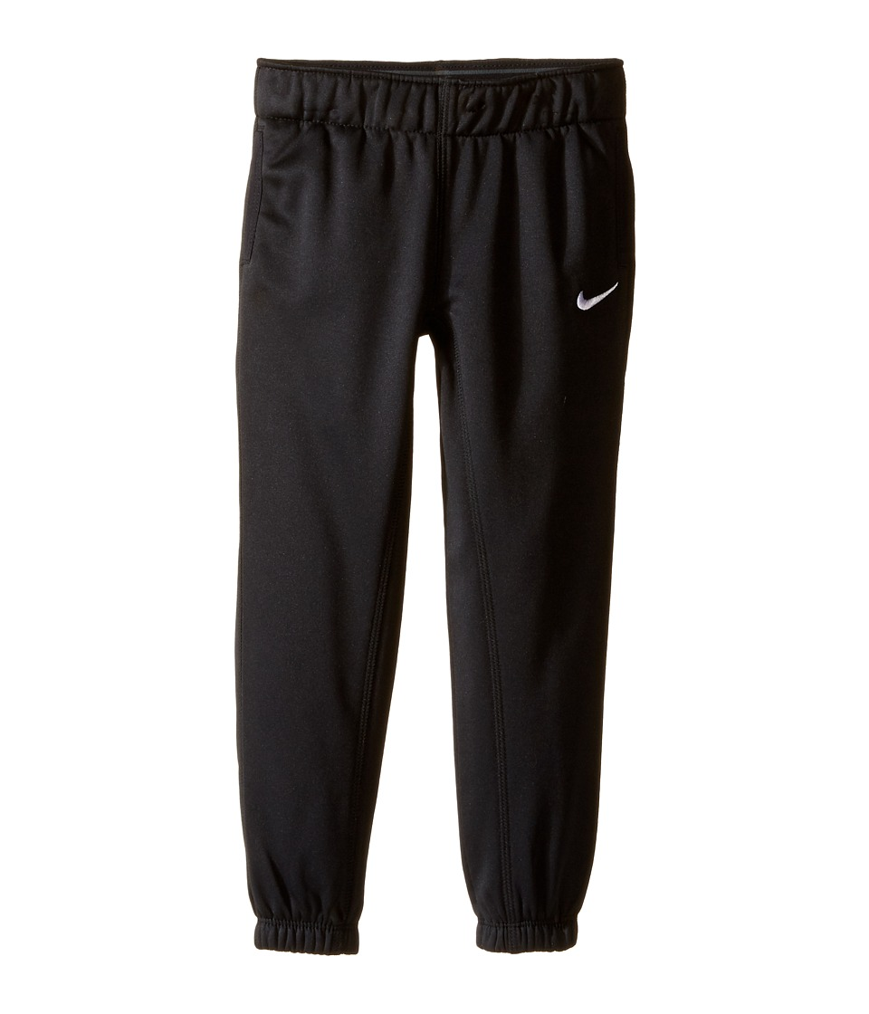 Nike Kids - Thermal Pants At Cuff (Toddler) (Black) Girl's Casual Pants
