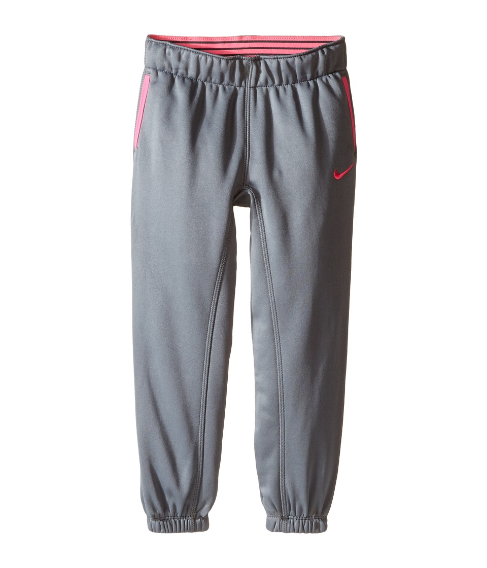 Nike Kids - Thermal Pants At Cuff (Toddler) (Cool Grey) Girl's Casual Pants