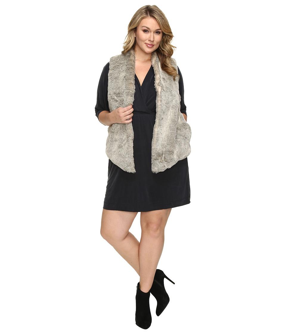 Tart - Plus Size Kya Vest (Grey Combo) Women's Vest