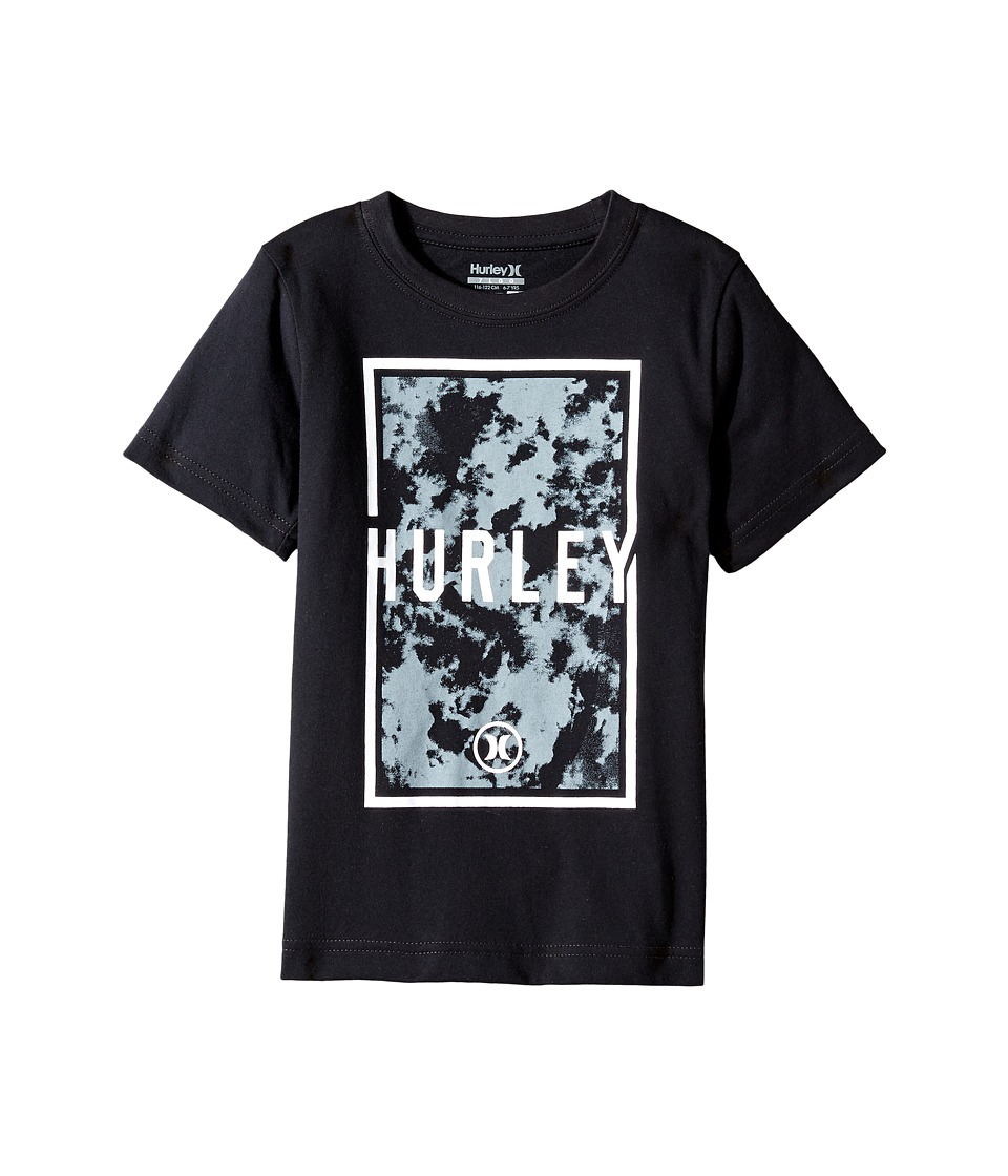 Hurley Kids - Cloudy Tee (Little Kids) (Black) Boy's T Shirt