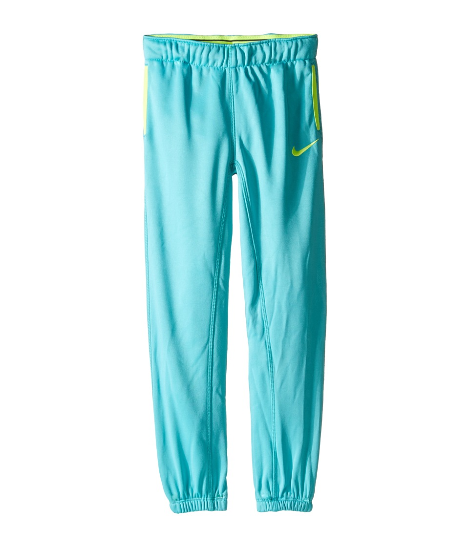 Nike Kids - Thermal Pants At Cuff (Little Kids) (Hyper Jade) Girl's Casual Pants