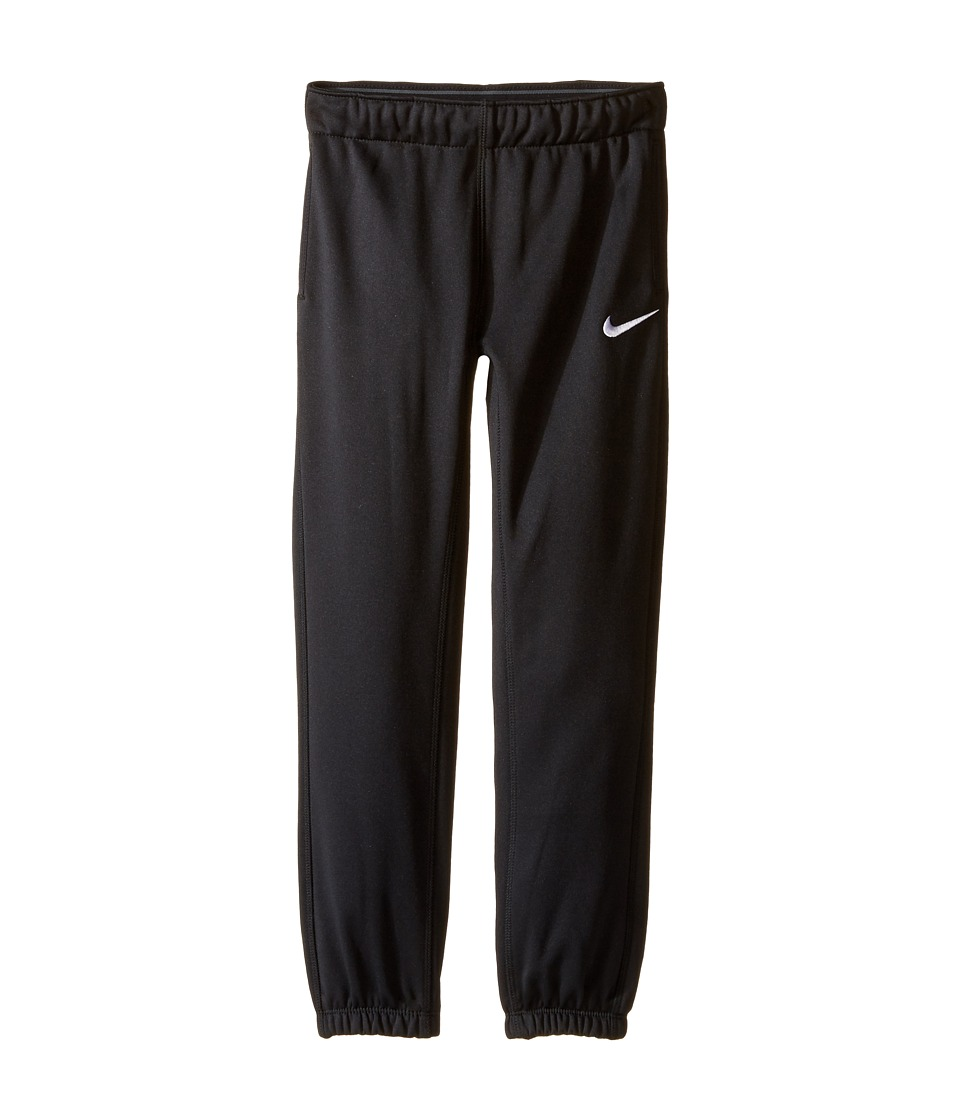 Nike Kids - Thermal Pants At Cuff (Little Kids) (Black) Girl's Casual Pants