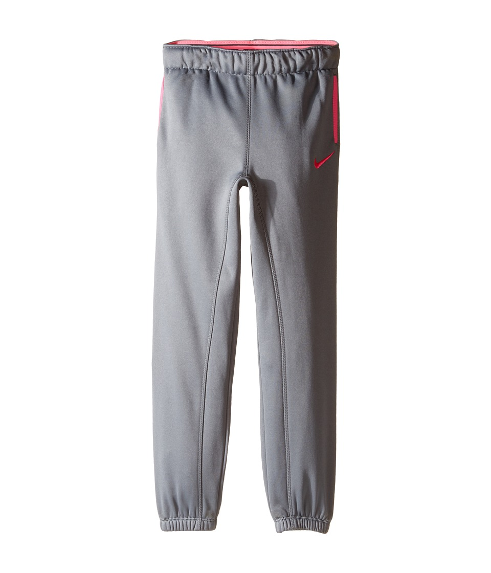 Nike Kids - Thermal Pants At Cuff (Little Kids) (Cool Grey) Girl's Casual Pants