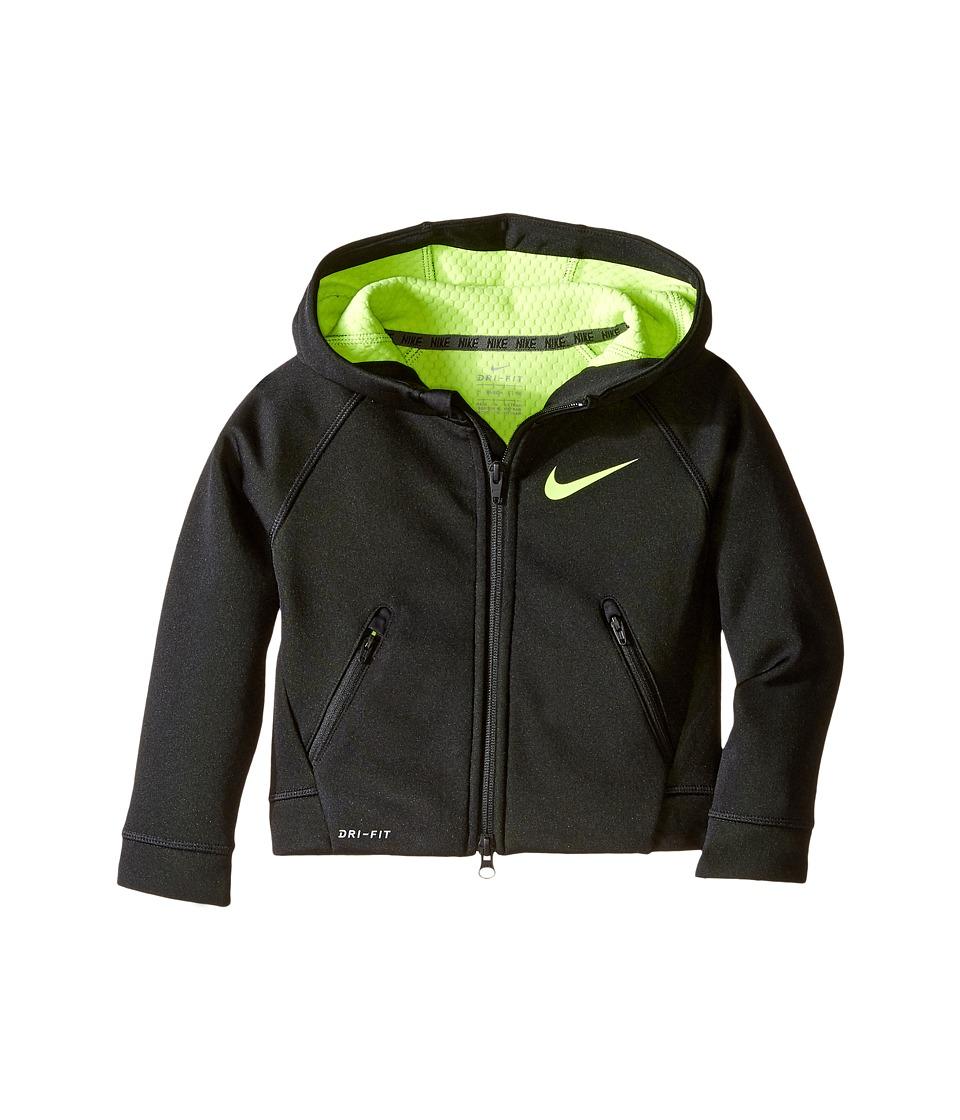 Nike Kids - Thermal Sphere Full Zip Hoodie (Toddler) (Black) Boy's Sweatshirt