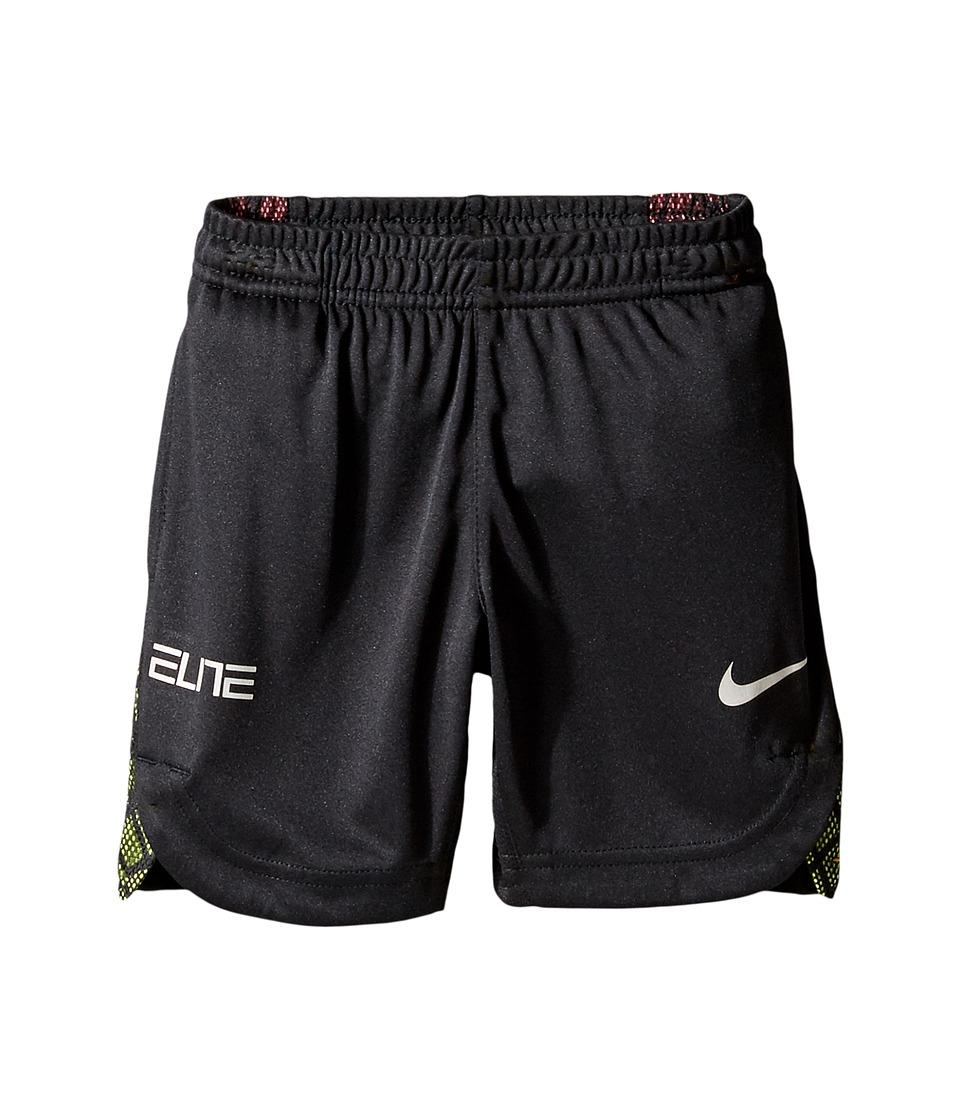 Nike Kids - Elite Key Short (Toddler) (Black) Boy's Shorts