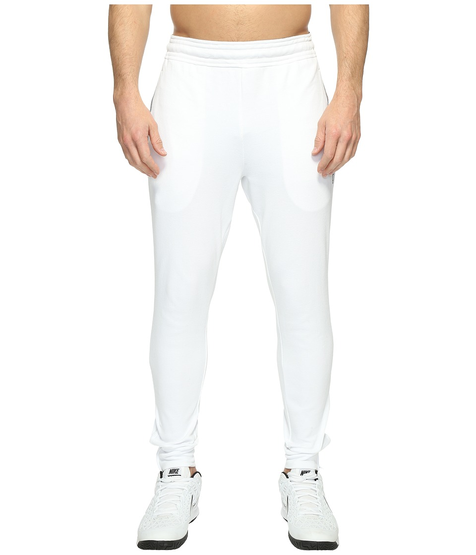 Nike - Court Tennis Pant (White/Black) Men's Casual Pants