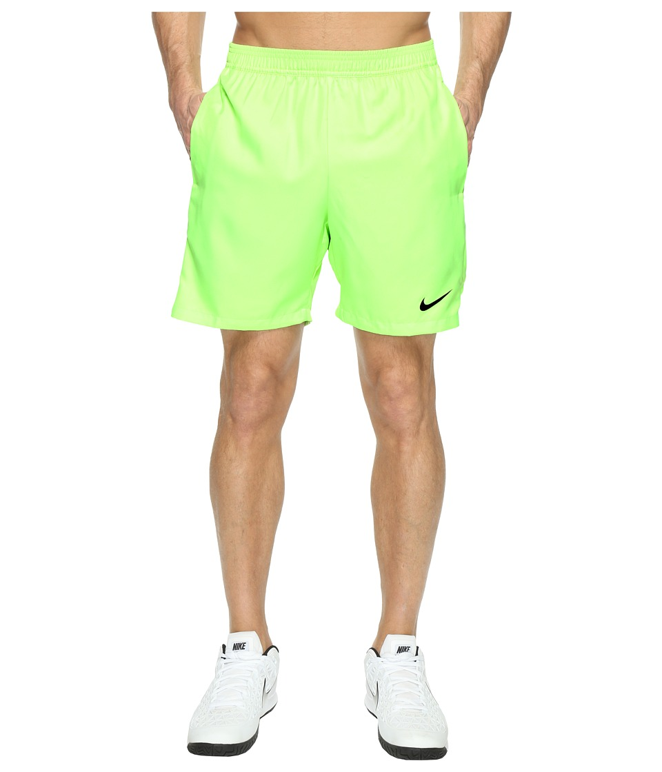 Nike - Court Dry 7 Tennis Short (Ghost Green/Black/Black) Men's Shorts
