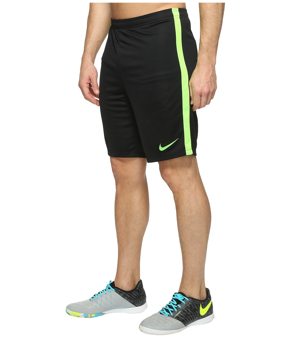 Nike - Dry Academy Soccer Short (Black/Electric Green/Electric Green) Men's Shorts