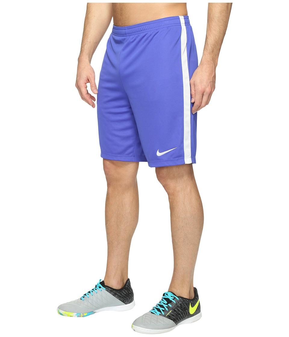 Nike - Dry Academy Soccer Short (Paramount Blue/White/White/White) Men's Shorts